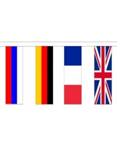 24 European Nation Buntings 8m (24 flags)