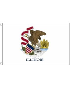 Illinois Flag (90x150cm)