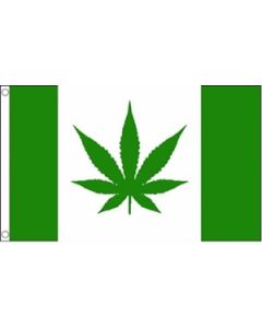 Canada with Marijuana Flag (90x150cm)