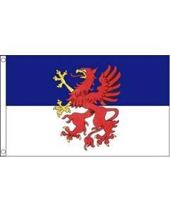 Pomeranian Flag (90x150cm)