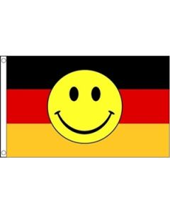 Germany Smiley Flag (90x150cm)