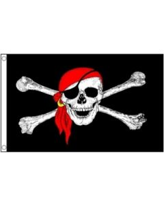 Pirate Bandana Flag (90x150cm)