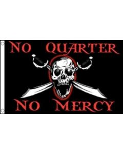 No Quarters No Mercy Flag (90x150cm)