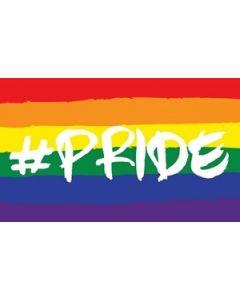 Hashtag Pride Flag (90x150cm)