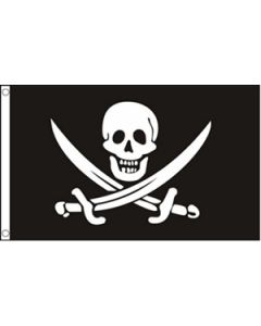 Jack Rackham - Pirate Flag (150x240cm)