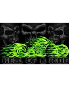 Hell of a Ride Flag (90x150cm)
