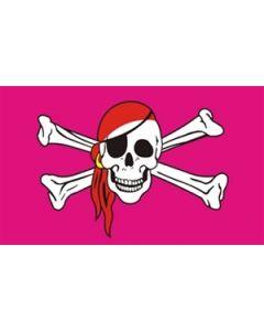 Pink Pirate - Pirate Flag (90x150cm)