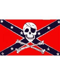 Rebel Pirate - Pirate Flag (90x150cm)