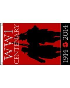 WW1 Centenary Flag (90x150cm)