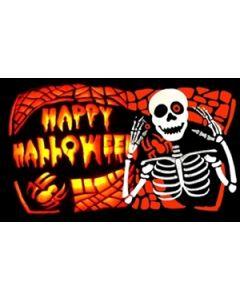 Halloween Bones Flag (90x150cm)