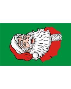 Santa Face Flag (90x150cm)