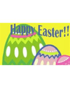 Happy Easter Flag (90x150cm)