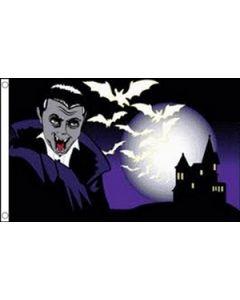 Halloween Bat Flag (90x150cm)