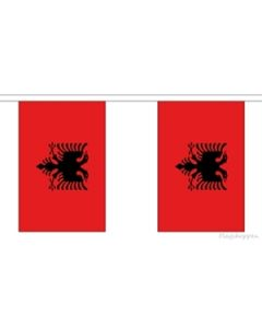 Albania Buntings 9m (30 flags)