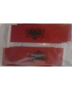 Albania Toothpick Paper Flags (30x48mm)
