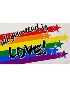 All You Need Is Love Flag (90x150cm)