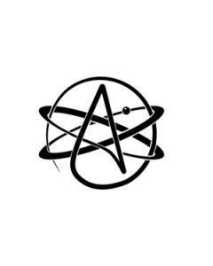Atheist Flag (90x150cm)