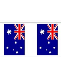 Australia Buntings 9m (30 flags)