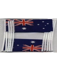 Australia Toothpick Paper Flags (30x48mm)