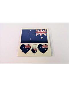Australia Tattoo (6x6cm)