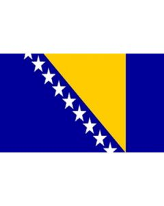 Bosnia and Herzegovina Premium Flag (120x180cm)