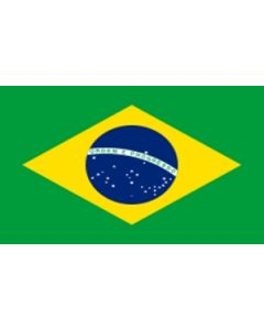 Brazil Satin Flag (15x22cm)