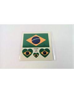 Brazil Tattoo (6x6cm)