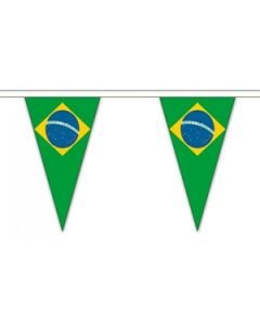 Brazil Triangle Buntings 20m (54 flags)