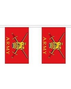 British Army Buntings 3m (10 flags)