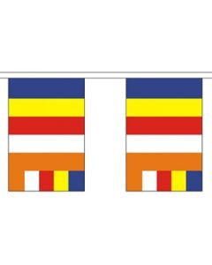 Buddhism Buntings 9m (30 flags)