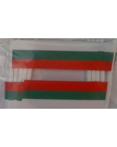 Bulgaria Toothpick Paper Flags (30x48mm)