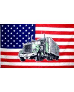 USA Truck Flag (90x150cm)
