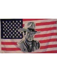 USA John Wayne Flag (90x150cm)