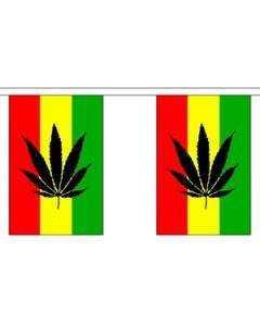 Cannabis Reggae Buntings 9m (30 flags)