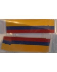 Colombia Toothpick Paper Flags (30x48mm)