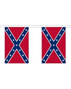 Confederate Buntings 3m (10 flags)