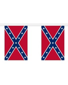 Confederate Buntings 9m (30 flags)