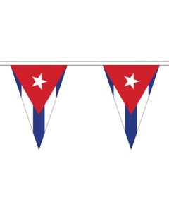 Cuba Triangle Buntings 5m (12 flags)