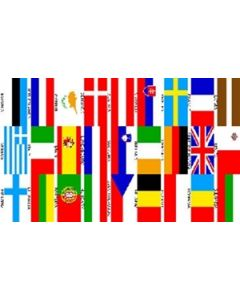 Euro 27 Nations Flag (90x150cm)