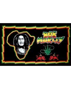Bob Marley Africa Flag (90x150cm)