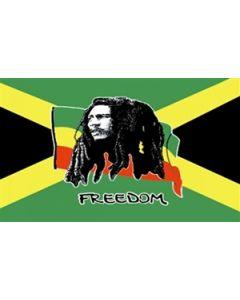 Bob Marley Jamaica Flag (90x150cm)