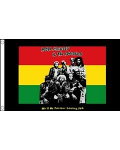 Bob Marley and The Wailers Flag (90x150cm)