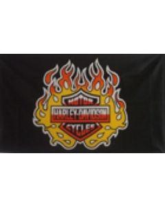 Harley Davidson Flag (90x150cm)