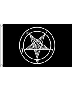Baphomet Church of Satan Flag (90x150cm)