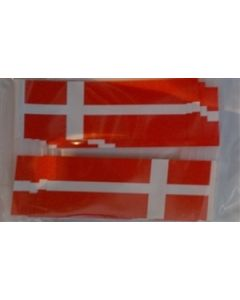 Denmark Toothpick Paper Flags (30x48mm)