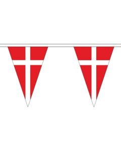 Denmark Triangle Buntings 5m (12 flags)