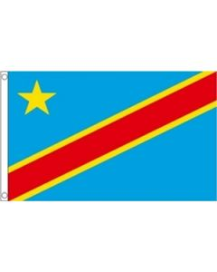 Democratic Republic of Congo Flag (60x90cm)