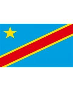 Democratic Republic of Congo Satin Flag (15x22cm)