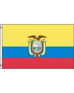 Ecuador Satin Flag (15x22cm)