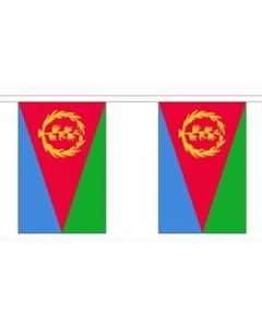 Eritrea Buntings 9m (30 flags)